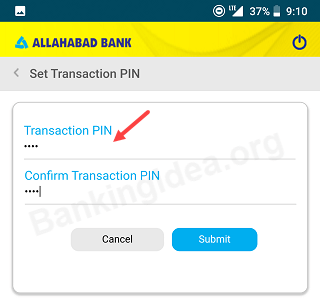 Activation Allahabad Bank Mobile Banking