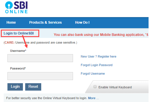 activate new sbi atm debit card online