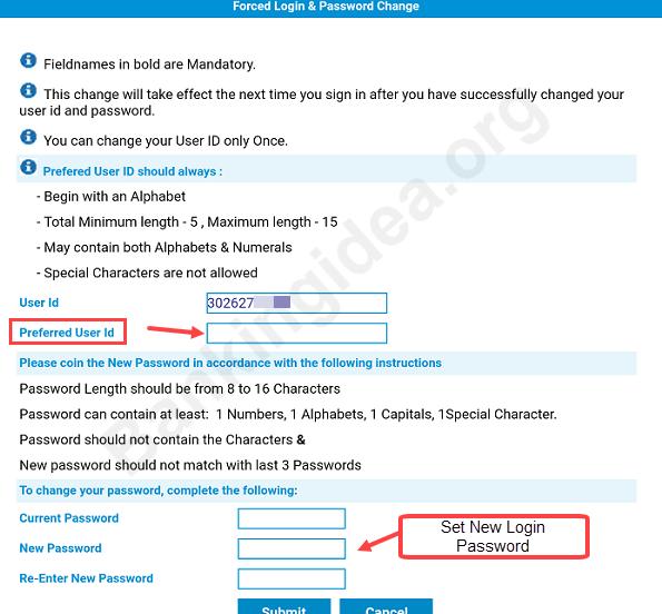Allahabad net banking online register