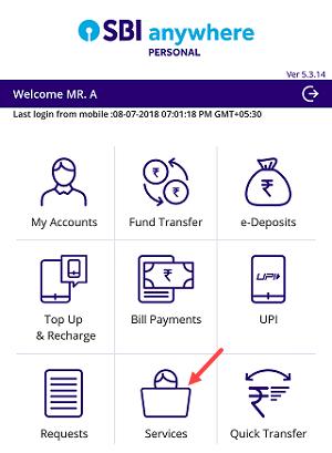 Find SBI CIF number online