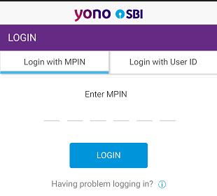 SBI YONO Login