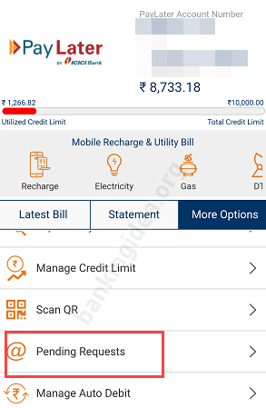 ICICI Pay later UPI Payment online offline