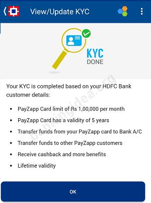 Payzapp KYC