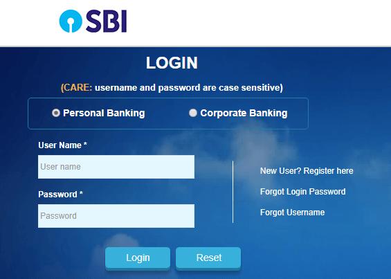 pay online SBI net banking