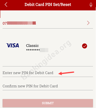 South Indian bank ATM PIN Online