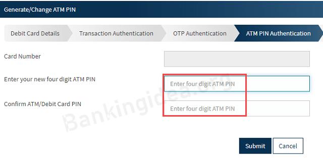 Bandhan Bank ATM PIN Generation Online Process