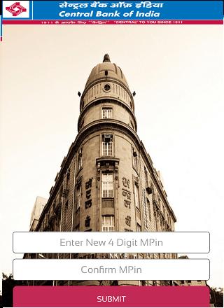 Central Bank of India CBI m-Passbook