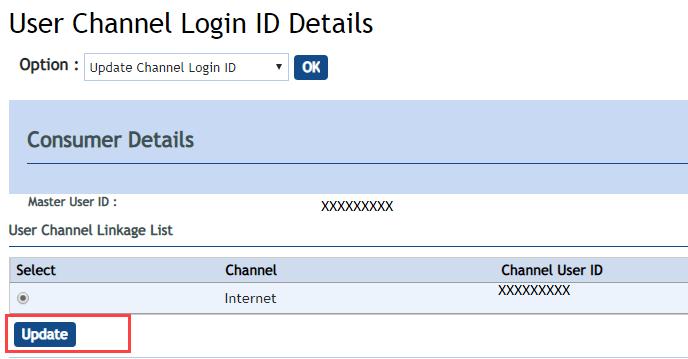 vijaya bank internet banking user id forgot