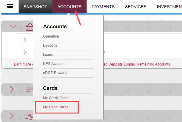 Axis Bank Debit Card international usage