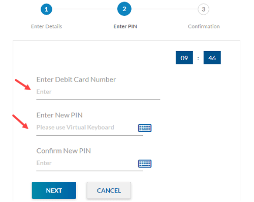 Yes Bank generate ATM PIn Online